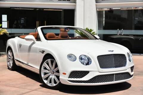 2016 Bentley Continental GT V8 for sale at Bentley Beverly Hills in Beverly Hills CA