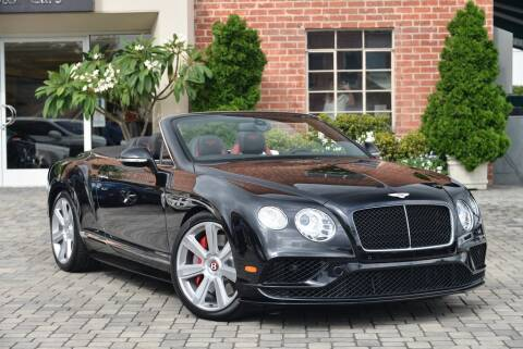 2016 Bentley Continental GT V8 S for sale at Bentley Beverly Hills in Beverly Hills CA
