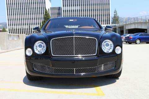 2012 Bentley Mulsanne for sale at Bentley Beverly Hills in Beverly Hills CA