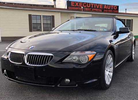 2005 bmw 6 series 645ci coupe 2d