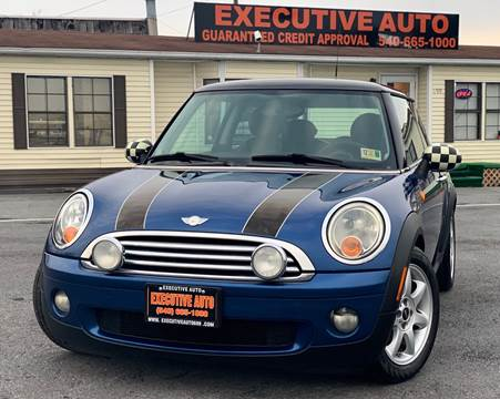 Mini Used Cars Bad Credit Auto Loans For Sale Winchester