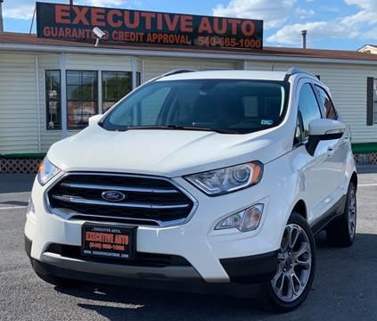 2018 Ford EcoSport for sale in Winchester, VA