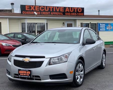 2014 Chevrolet Cruze for sale at Executive Auto in Winchester VA