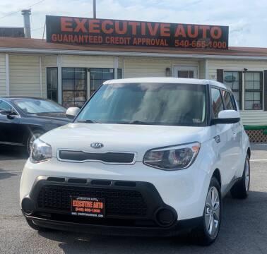 2016 Kia Soul for sale at Executive Auto in Winchester VA