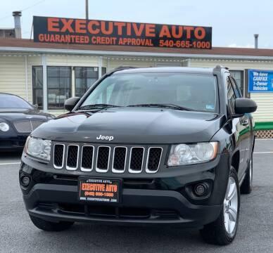 2013 Jeep Compass for sale at Executive Auto in Winchester VA
