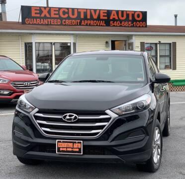 2018 Hyundai Tucson for sale at Executive Auto in Winchester VA