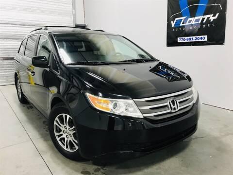 2011 Honda Odyssey EX-L for sale at Velocity Auto Motors in Alpharetta GA