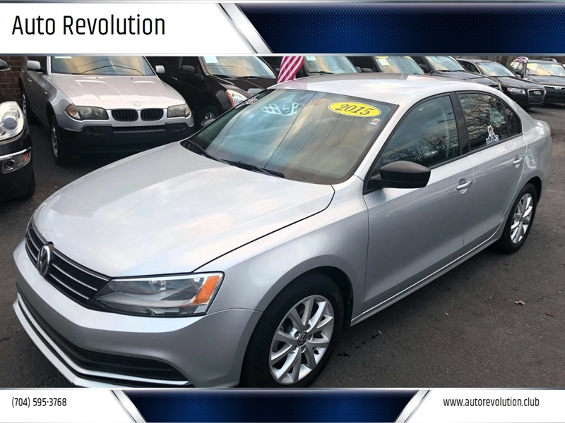 2015 Volkswagen Jetta for sale at Auto Revolution in Charlotte NC