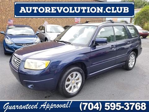 2006 Subaru Forester for sale at Auto Revolution in Charlotte NC