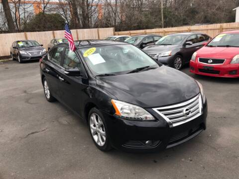 2013 Nissan Sentra for sale at Auto Revolution in Charlotte NC