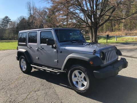 2016 Jeep Wrangler Unlimited for sale at Auto Revolution in Charlotte NC