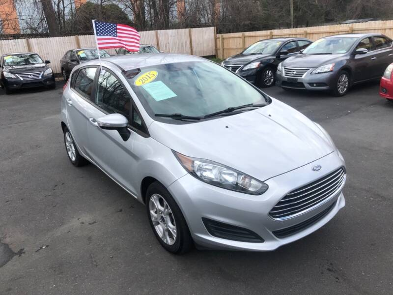 2015 Ford Fiesta for sale at Auto Revolution in Charlotte NC