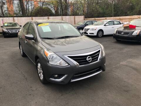 2017 Nissan Versa for sale at Auto Revolution in Charlotte NC