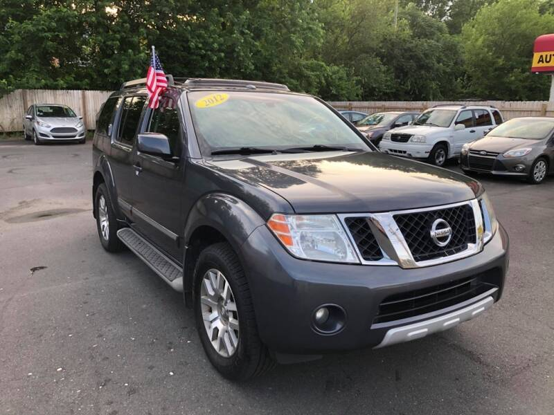 2012 Nissan Pathfinder for sale at Auto Revolution in Charlotte NC