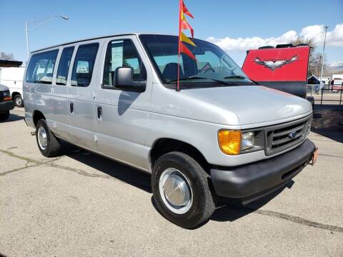 2004 Ford E-Series Wagon for sale at Allan  Marsh Boat RV Commercial Auto Center in Boise ID