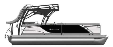 2020 Godfrey Pontoons MC 255 SDB Sport 27 for sale at Allan  Marsh Boat RV Commercial Auto Center in Boise ID