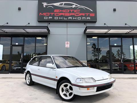 1991 Honda Civic for sale in Edmond, OK