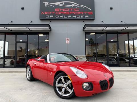 2007 Pontiac Solstice for sale in Edmond, OK