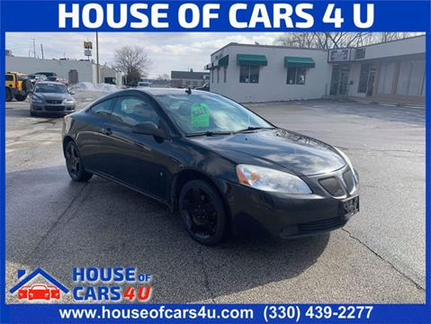 2008 Pontiac G6 for sale in Akron, OH