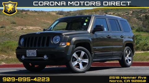 2016 Jeep Patriot for sale in Norco, CA
