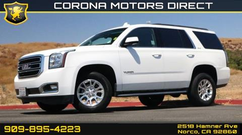 2016 GMC Yukon for sale in Norco, CA