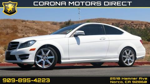 2015 Mercedes-Benz C-Class for sale in Norco, CA