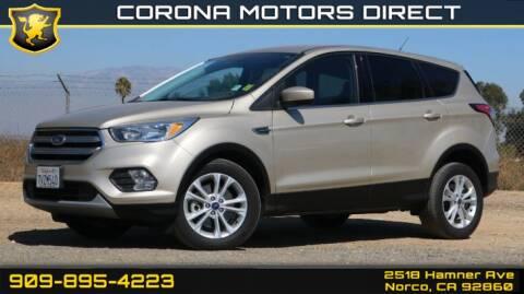 2017 Ford Escape for sale in Norco, CA