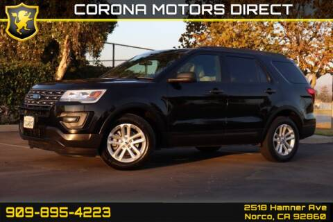 2017 Ford Explorer for sale in Norco, CA