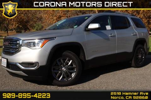 2019 GMC Acadia for sale in Norco, CA
