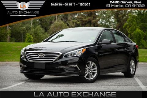 2015 Hyundai Sonata for sale in El Monte, CA