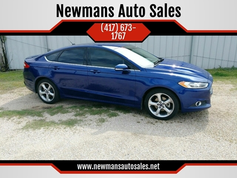 2015 Ford Fusion for sale in Webb City, MO