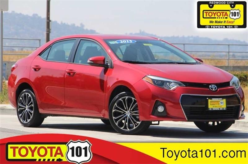 2015 Toyota Corolla For Sale At Toyota 101 In Redwood City CA