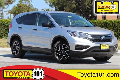 Elegant 2016 Honda CR V For Sale In Redwood City, CA