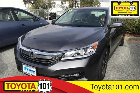Honda Redwood City >> Honda Accord Hybrid For Sale In Redwood City Ca Toyota