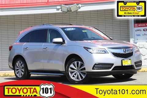 2014 Acura Mdx For Sale >> 2014 Acura Mdx For Sale In Redwood City Ca