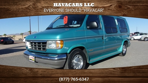 1994 Ford E-Series Cargo for sale in Lake Havasu City, AZ