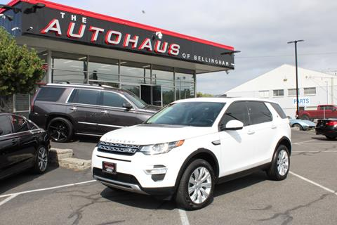 2016 Land Rover Discovery Sport for sale in Bellingham, WA