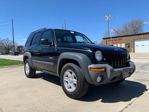 2004 Jeep Liberty for sale in Tilton, IL