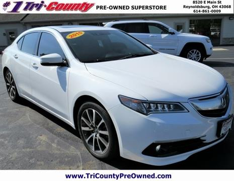 2015 Acura TLX for sale in Reynoldsburg, OH