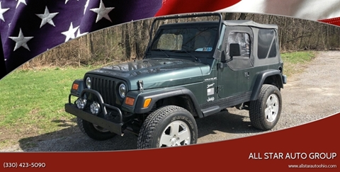 2002 Jeep Wrangler for sale in Poland, OH