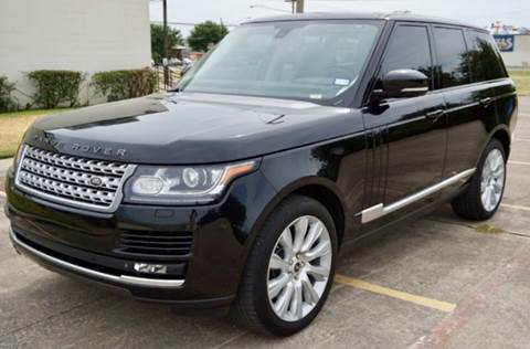 2013 Land Rover Range Rover for sale in Grand Prairie, TX