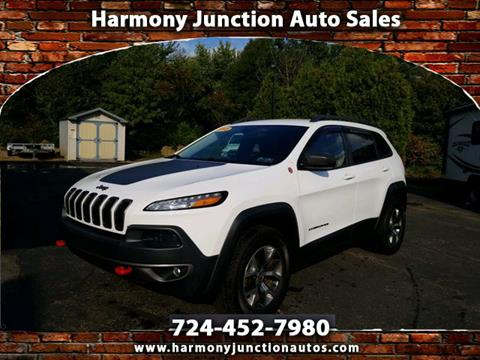Junction Auto Sales >> 2015 Jeep Cherokee For Sale In Harmony Pa