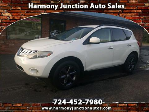 Junction Auto Sales >> 2009 Nissan Murano For Sale In Harmony Pa