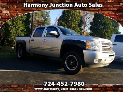 Junction Auto Sales >> 2012 Chevrolet Silverado 1500 For Sale In Harmony Pa
