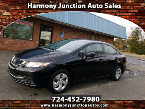 Junction Auto Sales >> 2015 Honda Civic For Sale In Harmony Pa