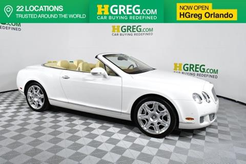 2011 Bentley Continental for sale in Orlando, FL