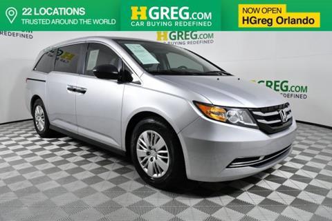2015 Honda Odyssey for sale in Orlando, FL