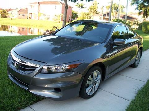 2012 Honda Accord for sale in Davie, FL