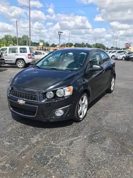 2015 Chevrolet Sonic for sale in Riverview, MI