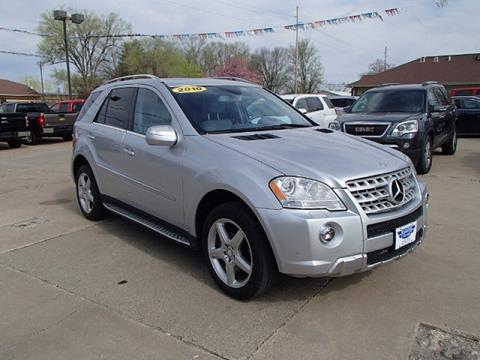 2010 Mercedes-Benz M-Class for sale in Knoxville, IA